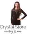 Szív alakú neccbetétes ruha fekete