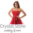 Tüllös szatén szalagos koktélruha piros