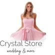 Tüllös szatén szalagos koktélruha, rózsaszín S