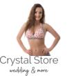 Pyramid pöttyös push-up háromszög bikini, rózsaszín-szürke C-D kosár M
