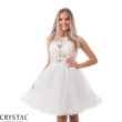 Carrie tüllös koktélruha, fehér