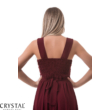 bordó alkalmi ruha