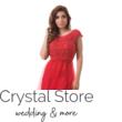 piros plus size alkalmi ruha