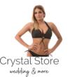 Carib pöttyös kiszélesített bikini fekete-arany