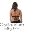 Carib háromszöges trikini, fekete-bronz L