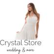 Neccrátétes nyakbakötős alkalmi ruha, fehér