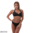 Pyramid push-up háromszög bikini fekete