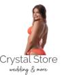 Paloma pántos push-up háromszög bikini, grapefruit 1021