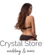 Paloma kiszélesített push-up háromszög bikini, barna-barack 414 S