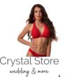 Paloma szivacslapos háromszög bikini, bordázott anyagú, piros 806