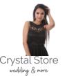 Cheryl muszlin maxiruha, fekete