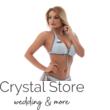 Carib kiszélesített push-up háromszög bikini, trikolor, szürke, D kosár S