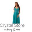 Emerald muszlin maxiruha, smaragd