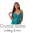 Emerald muszlin maxiruha, smaragd S