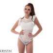 Elisabeth csipke body, fehér