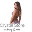 Paloma állítható kiszélesített push-up háromszög bikini, leveles, kék 402