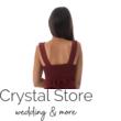 Charm muszlin koktélruha aszimmetrikus szoknyarésszel, bordó