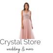 Elsa tüllös maxiruha, soft pink