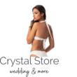 Paloma push-up háromszög bikini, fehér 1018 S