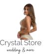 Paloma push-up háromszög bikini, lurexes, krém 1005 M