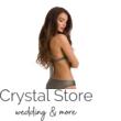 Paloma push-up háromszög bikini, lurexes, kék 1010 M