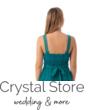 Cheryl muszlin koktélruha, smaragdzöld