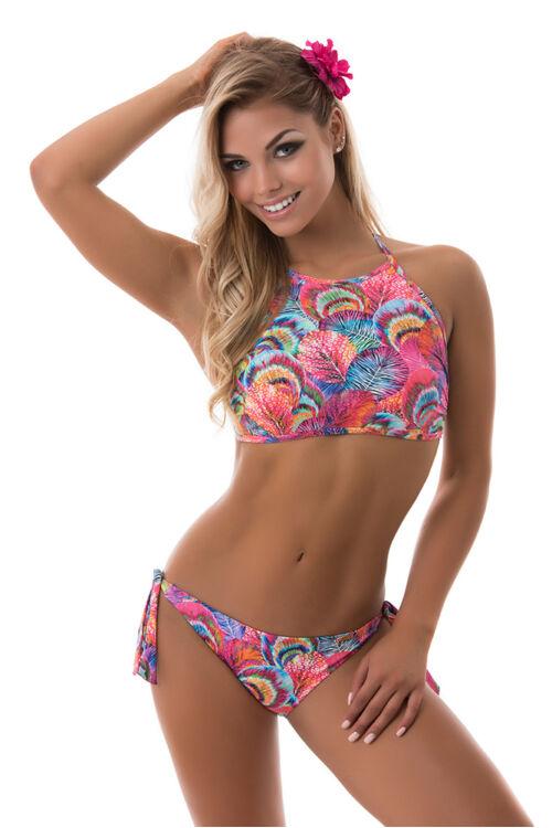 Paloma topos bikini, levél mintás 710
