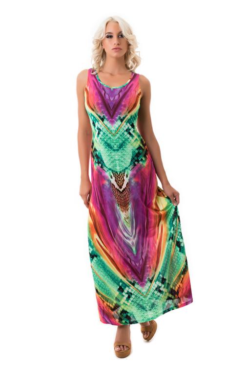 Kígyómintás nyári ruha