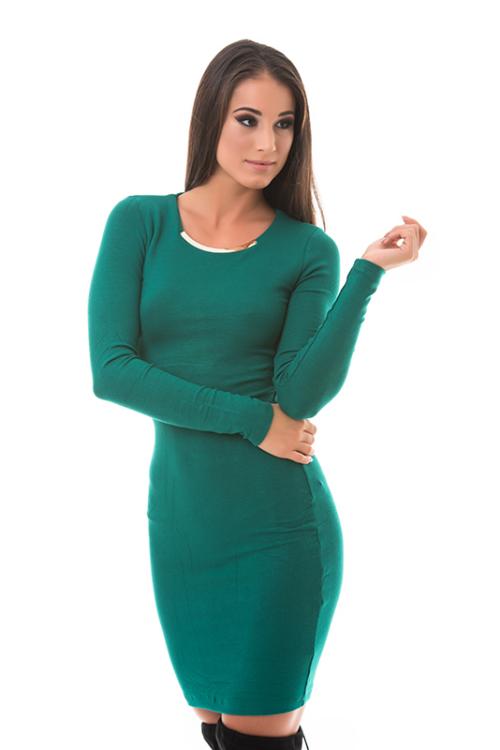 Fémbetétes pamutruha, zöld