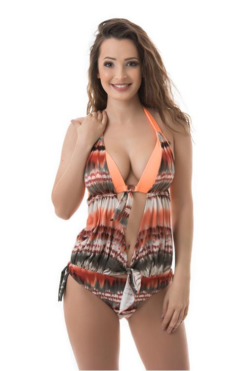 Carib trikini, batikolt hatású
