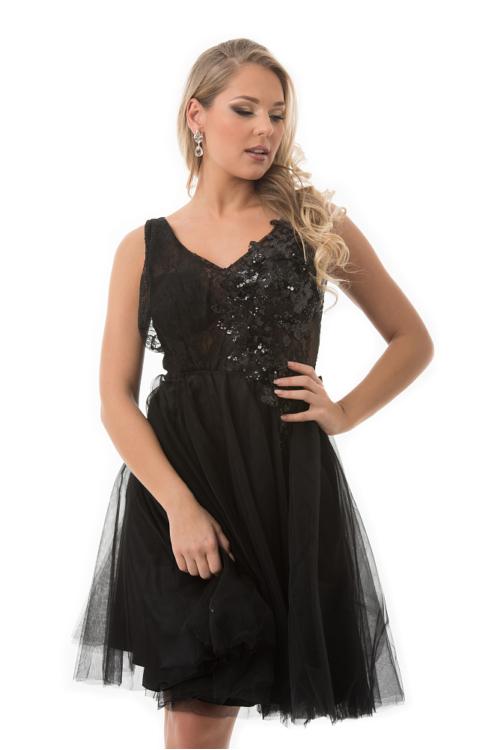 Destiny koktélruha, fekete