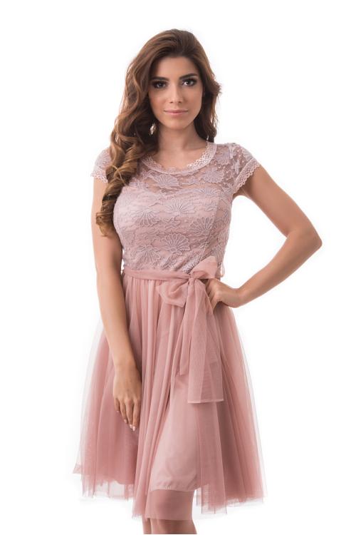 Claire alkalmi ruha, soft pink