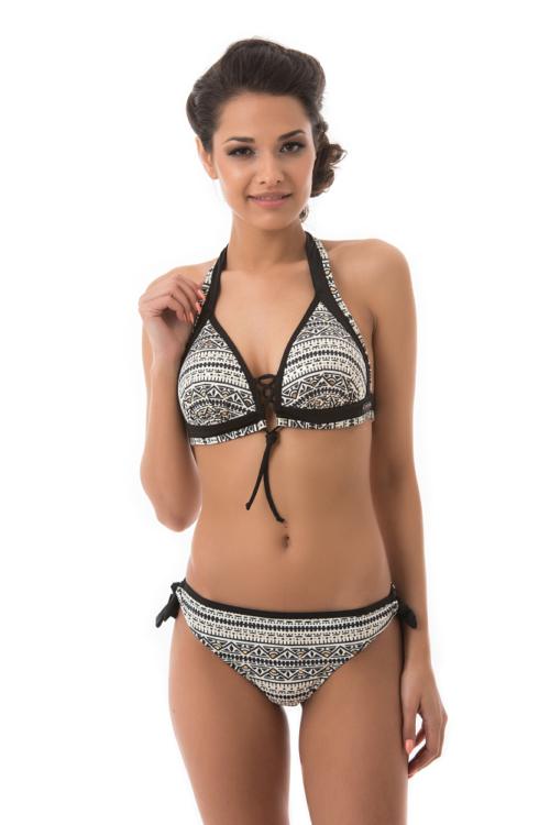 Carib etno mintás kiszélesített bikini