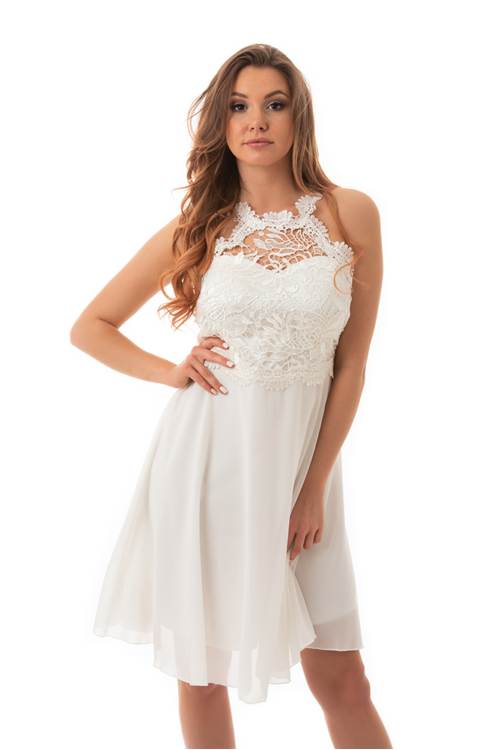 Serena koktélruha, fehér