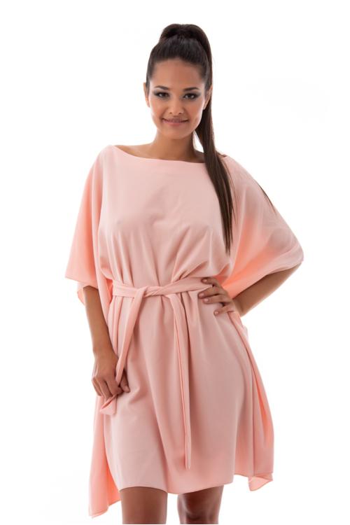 Alkalmi lepel ruha, rózsaszín