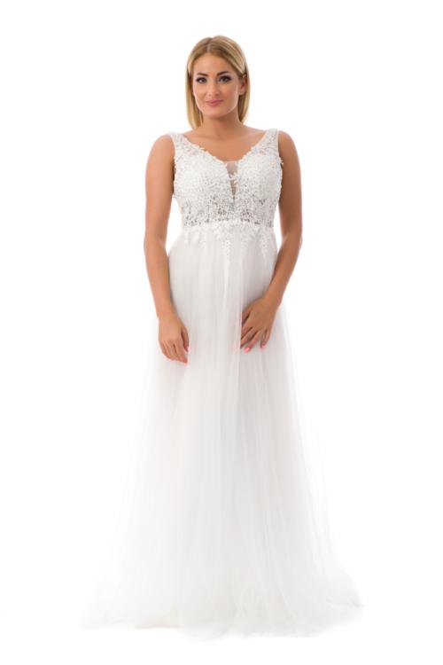 Cinderella maxiruha, fehér