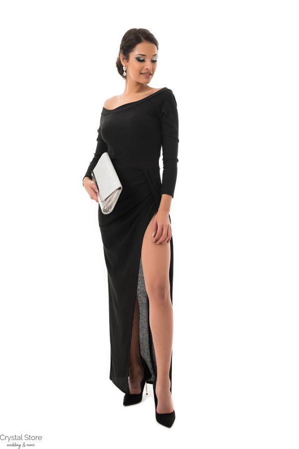 Luxury maxiruha, black