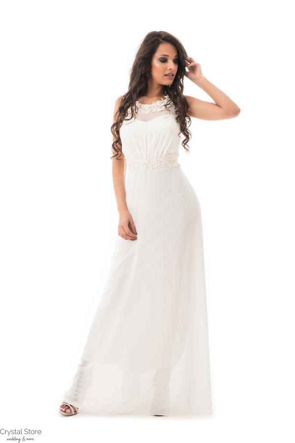 Olympia fehér maxiruha