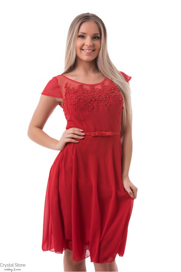 alkalmi ruha, piros